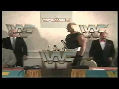 Hulk Hogan Vs Andre The Giant - Full Wrestlemania 3 Leadup