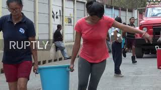 Venezuela: Authorities distribute clean water to Caracas neighbourhood hit by power outage