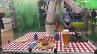 ToshibaMachine TV800 6-axis robot & EmpireRobotics VERSABALL
