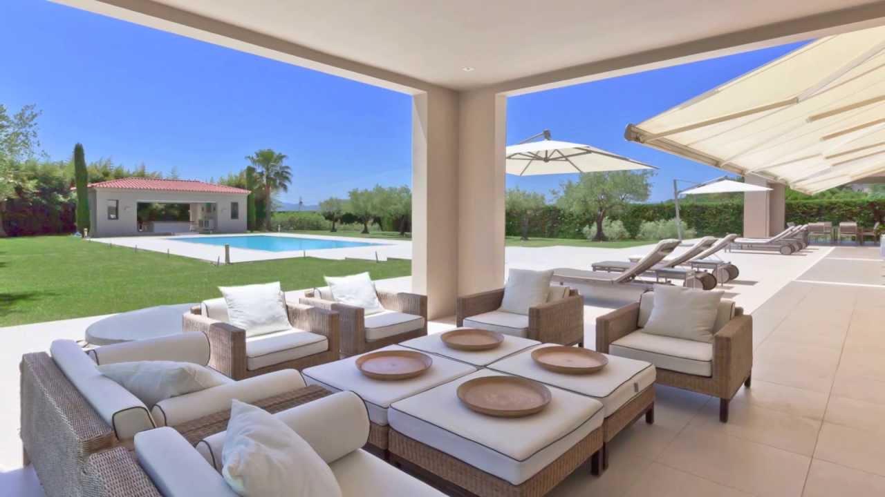 Vente propri t contemporaine mougins terrain de 6700 m - Plan pool house piscine ...