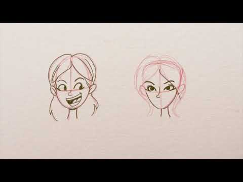 Como dibujar Rostros femeninos Tutorial de dibujo cartoon por Rick Ruiz-Dana