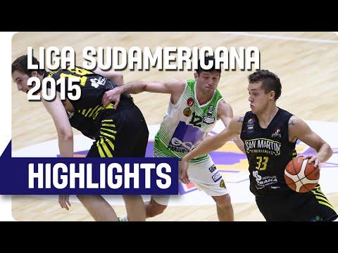 Deportes Castro (CHI) v San Martin (ARG) - Grupo A -  Liga Sudamericana 2015