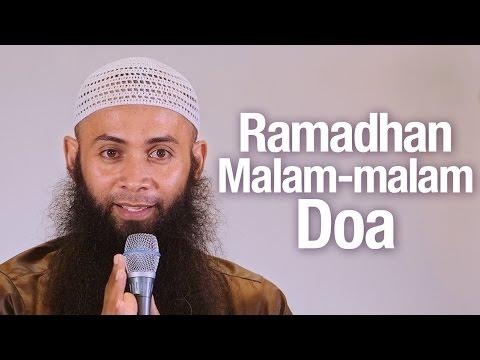Ceramah Agama Islam: Ramadhan Malam-malam Doa - Ustadz Dr. Syafiq Reza Basalamah, MA.