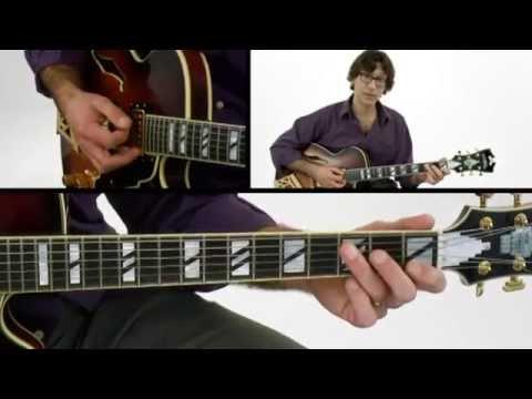 1-2-3 Jazz Chord Melody - #16 Melody Note - Guitar Lesson - Frank Vignola