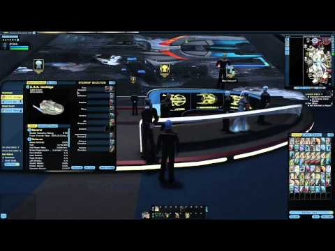 Episode 7 Star Trek Online 11.5! Level New Ship, Earth Space dock tour!