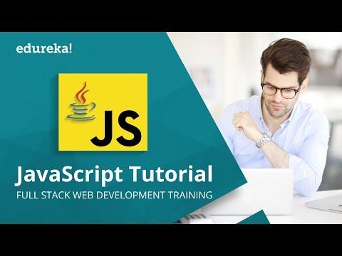 JavaScript Tutorial For Beginners | JavaScript Training | JavaScript Programming Tutorial | Edureka