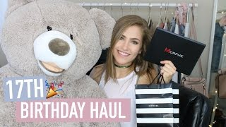 WHAT I GOT FOR MY 17TH BIRTHDAY! | Mel Joy