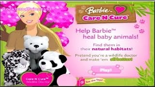Barbie Games Barbie Care N Cure Game For Kids