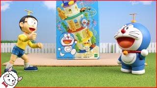 Doraemon vs Nobita Balance game toy animation ドラえもん ALPACO