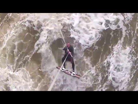 Kitesurfing Walney Island