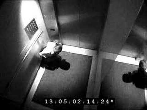 Police Tape Woman Employee Shits In Elevator video
