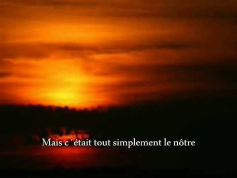 Joe Dassin - L'été Indien (with lyrics)