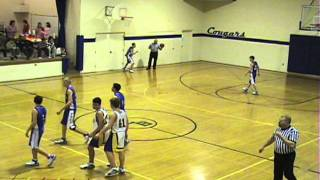 Brian Leonhardt high school basketball 1st quarter vs South Bend
