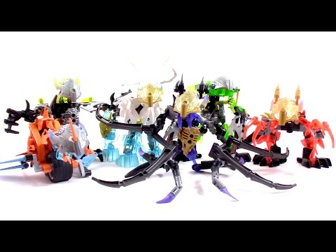 Capstone Review! My Bionicle Creature MOC Series