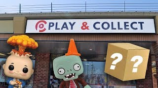 Play and Collect Pop Hunt | ECCC Mystery Box Pull