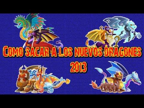 Como sacar a los Nuevos Dragones en Dragon City 2013 Mayo - Junio