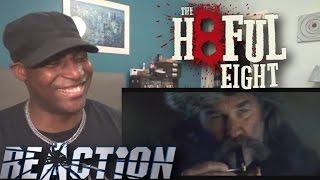 The Hateful Eight Official Trailer #1 (2015) Samuel L. Jackson, Kurt Russell - REACTION!