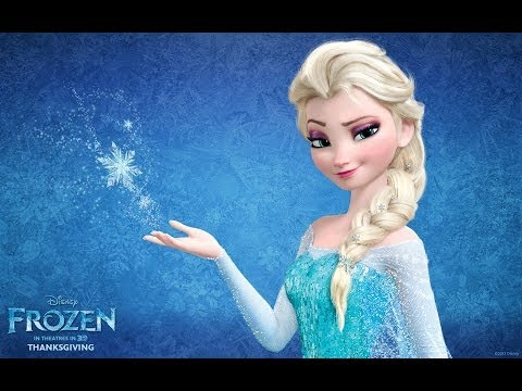 Maquillaje y Peinado inspirado en Elsa de Frozen/Disney