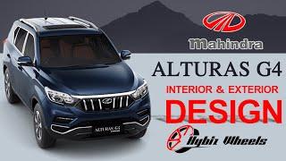 Mahindra Alturas G4 Interior and Exterior Review | Hybiz Wheels