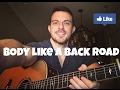 Body Like A Back Road Sam Hunt Acoustic Cover By Scott Porter mp3