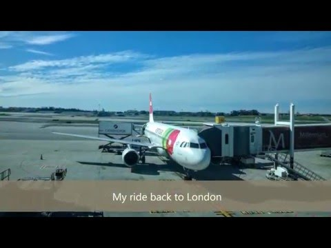 TAP Portugal - Economy Class - London to Lisbon and back