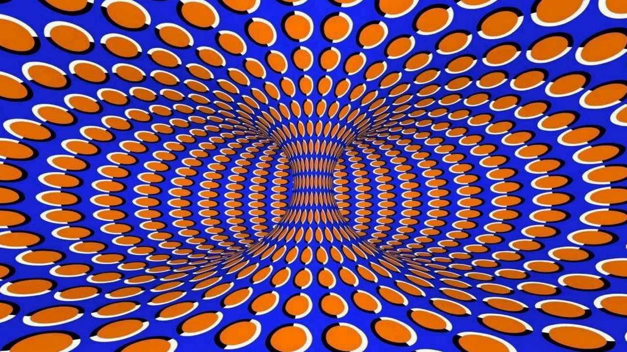 top 10 optical illusions ever with 3d rotations youtube