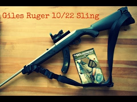 Ruger 10/22 Takedown Giles Sling