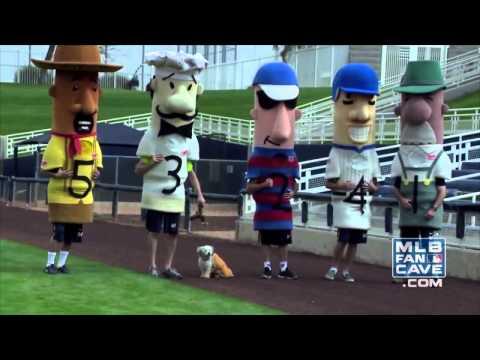 Hank the Milwaukee Brewers Ballpark Pup