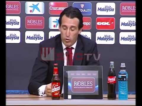 Rueda de prensa de Unai Emery post-partido Sevilla FC 2-0 Athletic Club