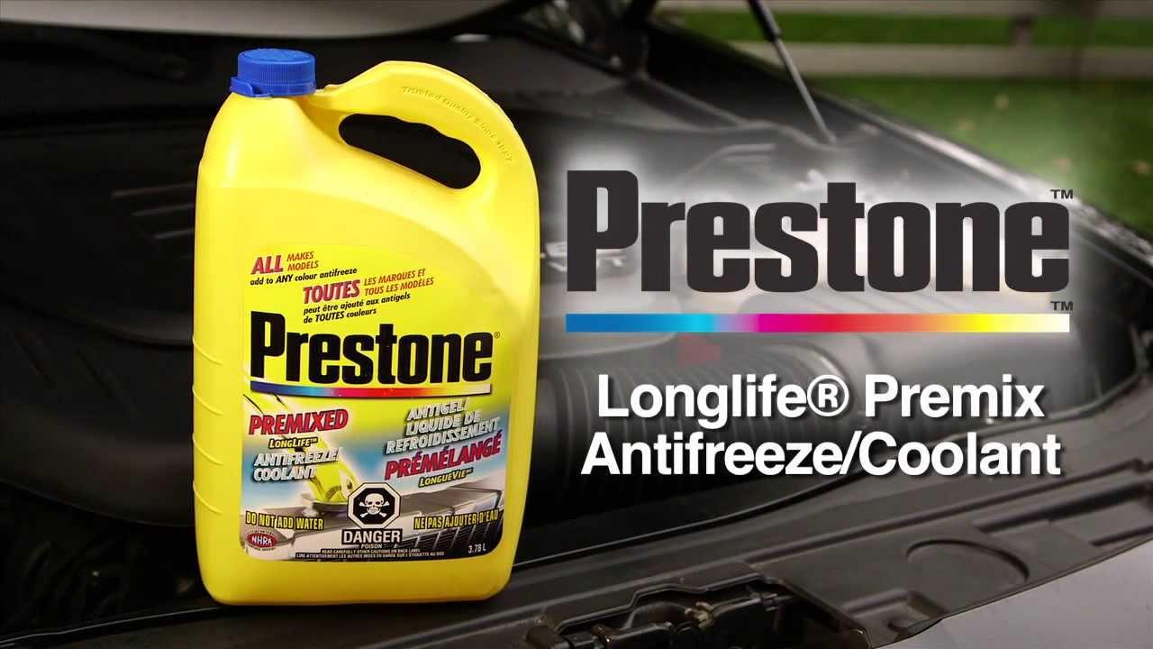 Prestone Longlife Premix Antifreeze/Coolant from Canadian Tire - YouTube
