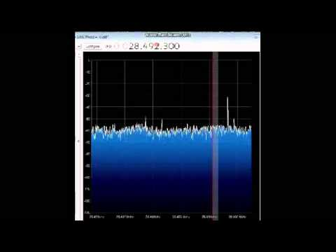 Receiving 10m on FC0013 SDR-RTL part2 10032013