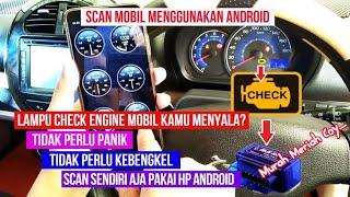 Cara Menggunakan Scanner Mobil Mini ELM 327 Bluetooth OBD2