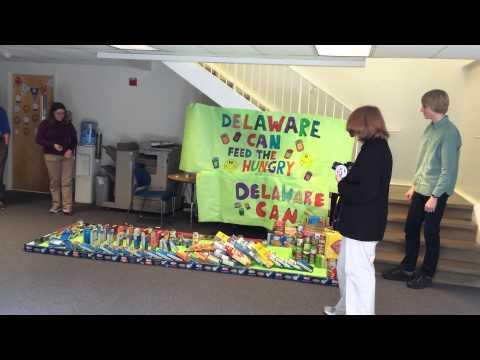 Centreville Layton School's moving DelawareCAN structure - 10/22/2014