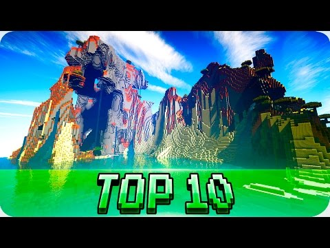 Minecraft Seeds - TOP 10 SEEDS! Best Seeds for Minecraft 1.9 / 1.8