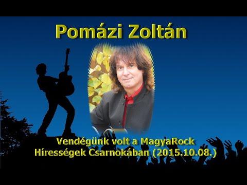 Pomázi Zoltán Vendégünk volt a MagyaRock Hírességek Csarnokában (2015 -10-08)