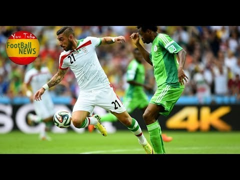 Iran vs Nigeria Highlights Final Result 0-0 World Cup 2014