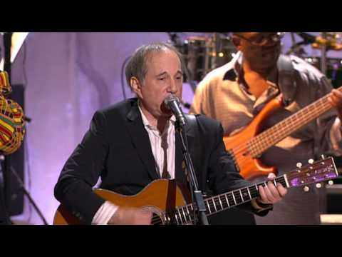 Paul Simon and Stevie Wonder -