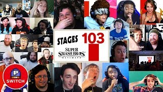 Live Reaction: 103 STAGES & 900 TRACKS in Super Smash Bros. Ultimate | Synched Compilation