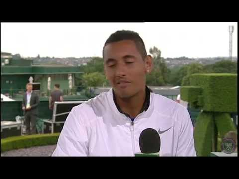 Nick Kyrgios reflects on epic win - Wimbledon 2014