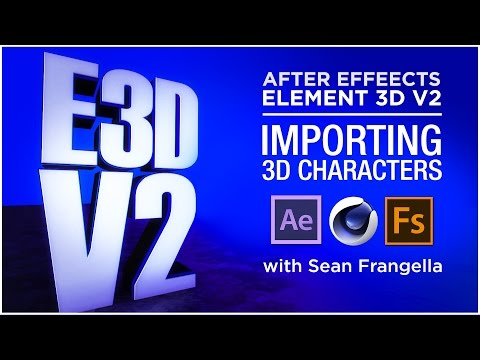 Element 3D V2 Tutorial - Import OBJ Sequences from Cinema 4D into E3D -  Sean Frangella