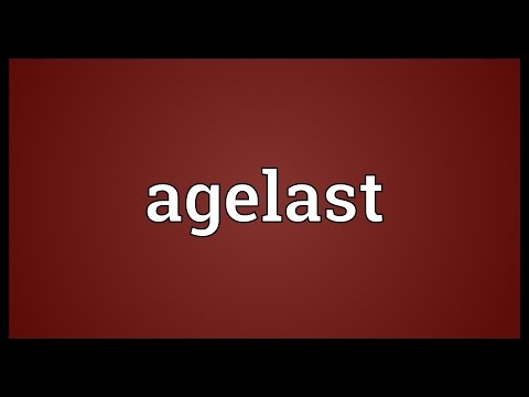 Header of Agelast
