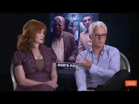God's Pocket Interview With John Slattery and Christina Hendricks [HD]