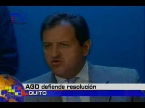 AGD defiende resolución