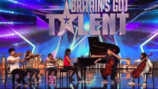 Britain 39 S Got Talent 2015 S09e07 The Kanneh Masons Six Piece Family Classical Orchestra