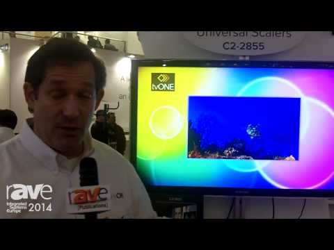 ISE 2014: TV One Introduces C2-2855 Universal Scaler with LED Display