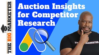 Auction Insights Report for Google Ads Competitor Analysis