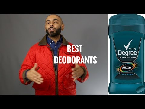 10 Best Men's Deodorants/Antiperspirants/ Top Men's Deodorants/Antiperspirants