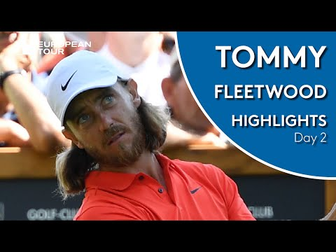 Tommy Fleetwood Highlights | Round 2 | 2019 Omega European Masters