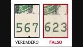 Los Billetes falsos abundan como distinguirlos