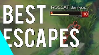 Best League Of Legends Escapes | Montage 2014-2016 Vol.3